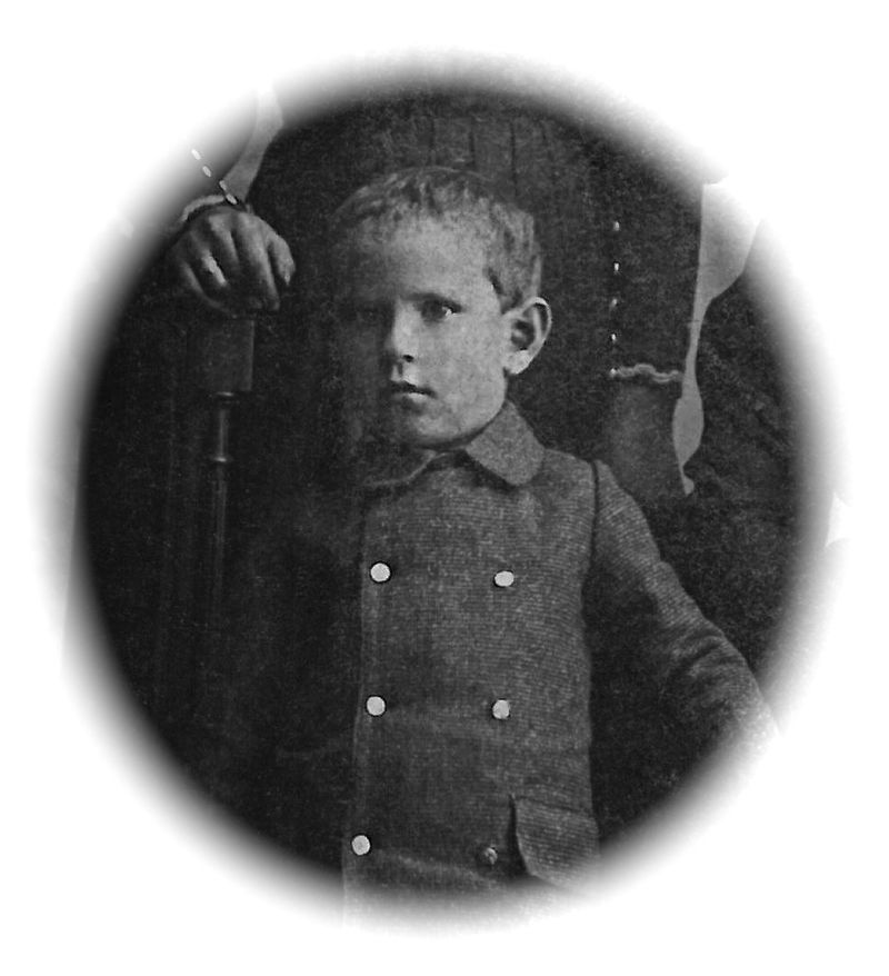 Lucien Jeannet enfant