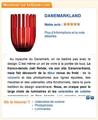 LeGuide.com:Danemarkland 1