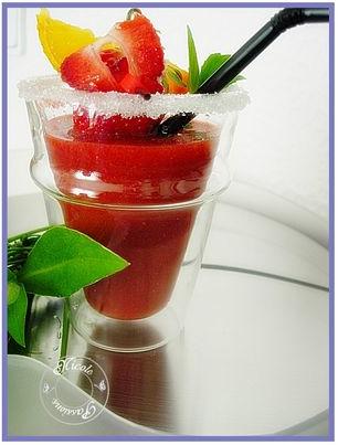 Smoothie fraises 2
