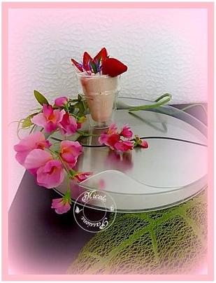 Mousse de fraises 1