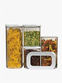 Boites Modula, couvercle transparent, Rosti mepal