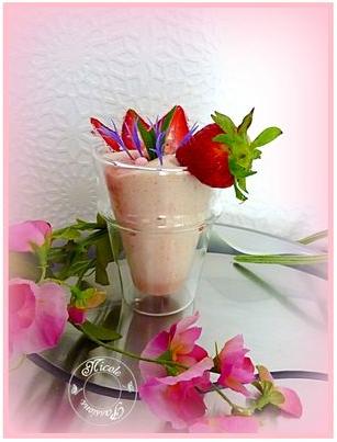 Mousse de fraises 2