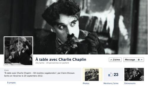 à table avec Chaplin