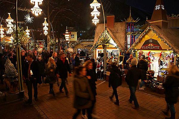 Jardins Tivoli Copenhague Noël