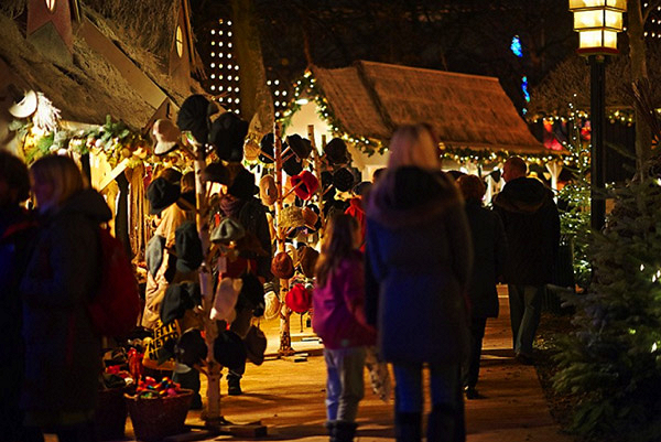 Noël à Copenhagen à Tivoli