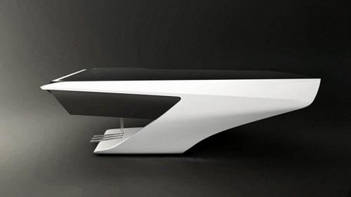Piano design Peugeot Pleyel profil