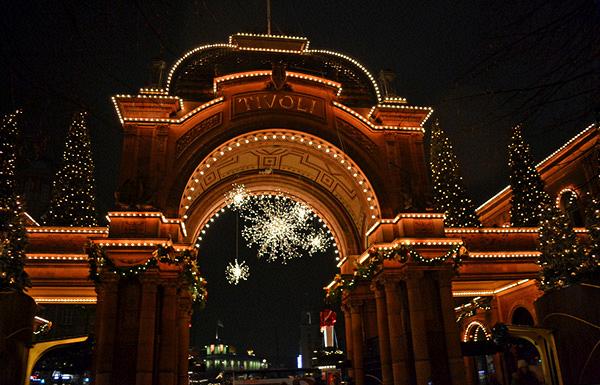 Noël au Parc Tivoli de Copenhague