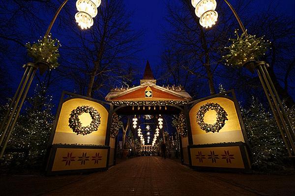 Noël au Danemark à Tivoli