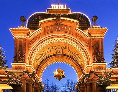 Tivoli-Copenhague-Entrée