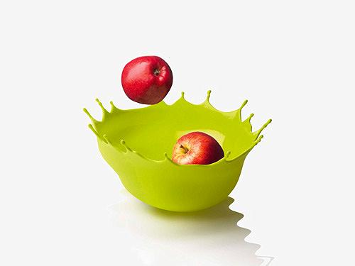corbeille à fruits design, Menu Dropp
