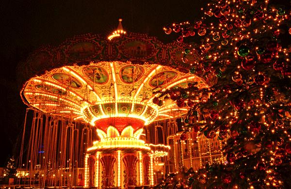 Parc Tivoli Noël Danemark